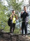 2014 apr tigrenok 1-y pohod 15 km 051